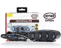 Разветвитель гнезда прикуривателя 12V3 + 1USB + 1 для прикуривателя HEYNER 4WayPower PRO 511 000