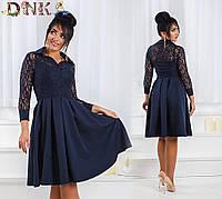 Батальное платье А-силуэт