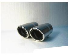 Насадка глушителя CarEx, 101.6 мм, d1=57.1, d2=76.2 мм