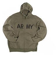 "Толстовка спортивная US ""ARMY"", olive"