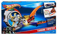 Трек Hot Wheels Турбина Твистер моторизированный Хот Вилс Turbine Twister DNN72 Оригинал