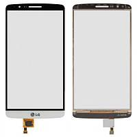 Сенсор (тачскрин) для LG D855 Optimus G3/D858/D859 белый Оригинал