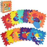 Коврик-мозаика M 2616  Веселая головоломка. Животные.