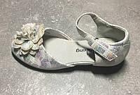 Нарядные белые туфли для праздника для девочки 27 размер