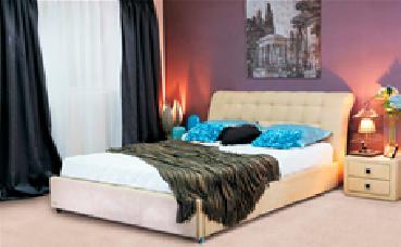 Кровать  мягкая Эмбавуд, фото 2