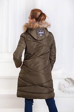 """Д1668/1 Пальто зимнее """"Хром"""" тм""""valesiy"""", фото 2"""