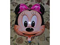 Фольгированный шарик для девочки Микки Маус