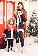 Зимняя куртка трансформер многоцветная