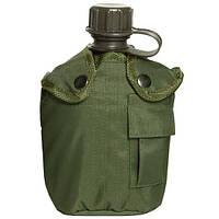 Mil-Tec Фляга в чехле с подстаканником US оливка 14506001