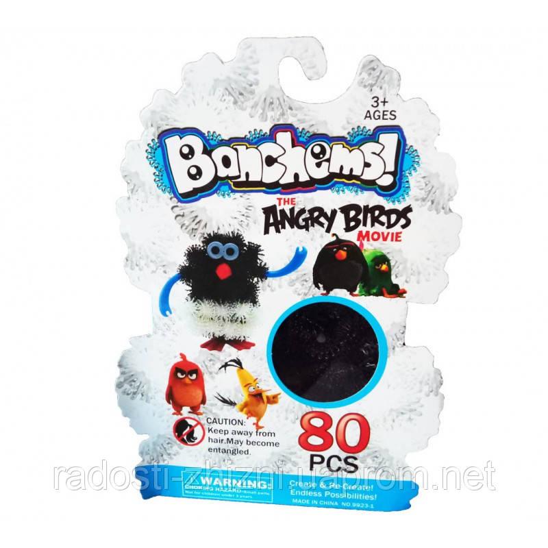 Конструктор-липучка Bunchems Angry Birds 80+ деталей