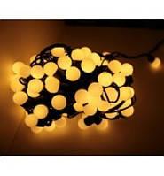 Гирлянда LED 50 белый теплый ( гирлянда на елку )