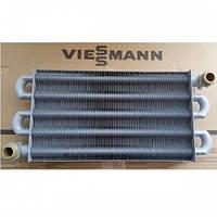 7825511 Теплообменник первичный Vitopend 100 WH1B, WH1D, 82 ламели для котла Viessmann