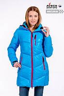 Женская куртка Avecs, голубой P. 42 46 48 50