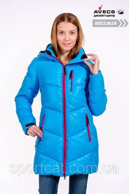 Женская куртка Avecs, голубой
