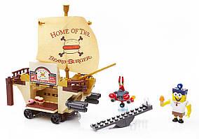 Mega Bloks Конструктор Губка Боб SpongeBob Burgermobile Showdown Building Set