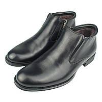 Ботинки мужские зимние кожаные Conhpol C-4125к (Польша)