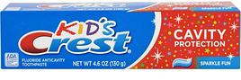 Дитяча зубна паста, Crest kid's Cavity Protection 130 грам