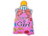 Воздушный шар Соска для девочки на выписку из роддома
