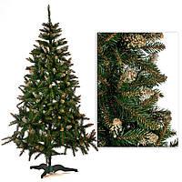 """Искусственная елка """"Кристалл""""  зеленая, 180 см"""