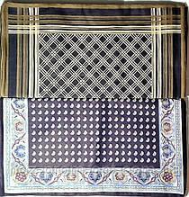 Платки носовые, Мужские, 100% хлопок, 390мм*390мм. Узбекистан.