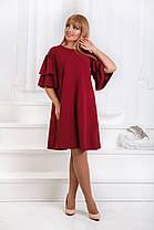 ДТ1183 Платье с воланами размеры 50-56, фото 2