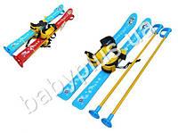 Лыжи из морозостойкого пластика, 2 цвета