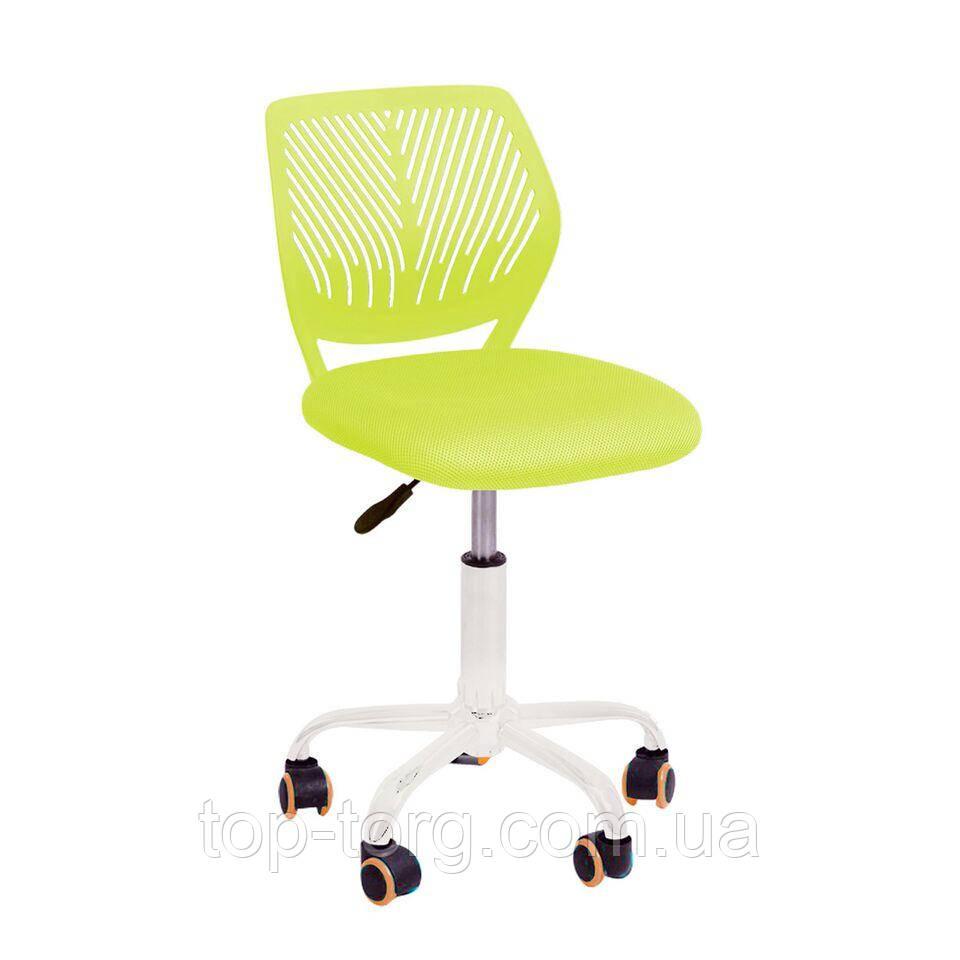 Кресло детское компьютерное  JONNY green, цвет зеленый