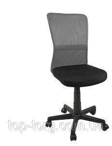 Стул офисный, компьютерный BELICE, Black/Grey черный, серый