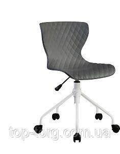 Крісло офісне, стілець RAY, сіре