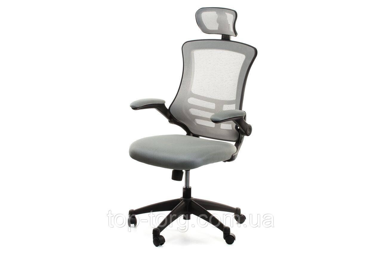 Кресло компьютерное, офисное RAGUSA Grey, серый