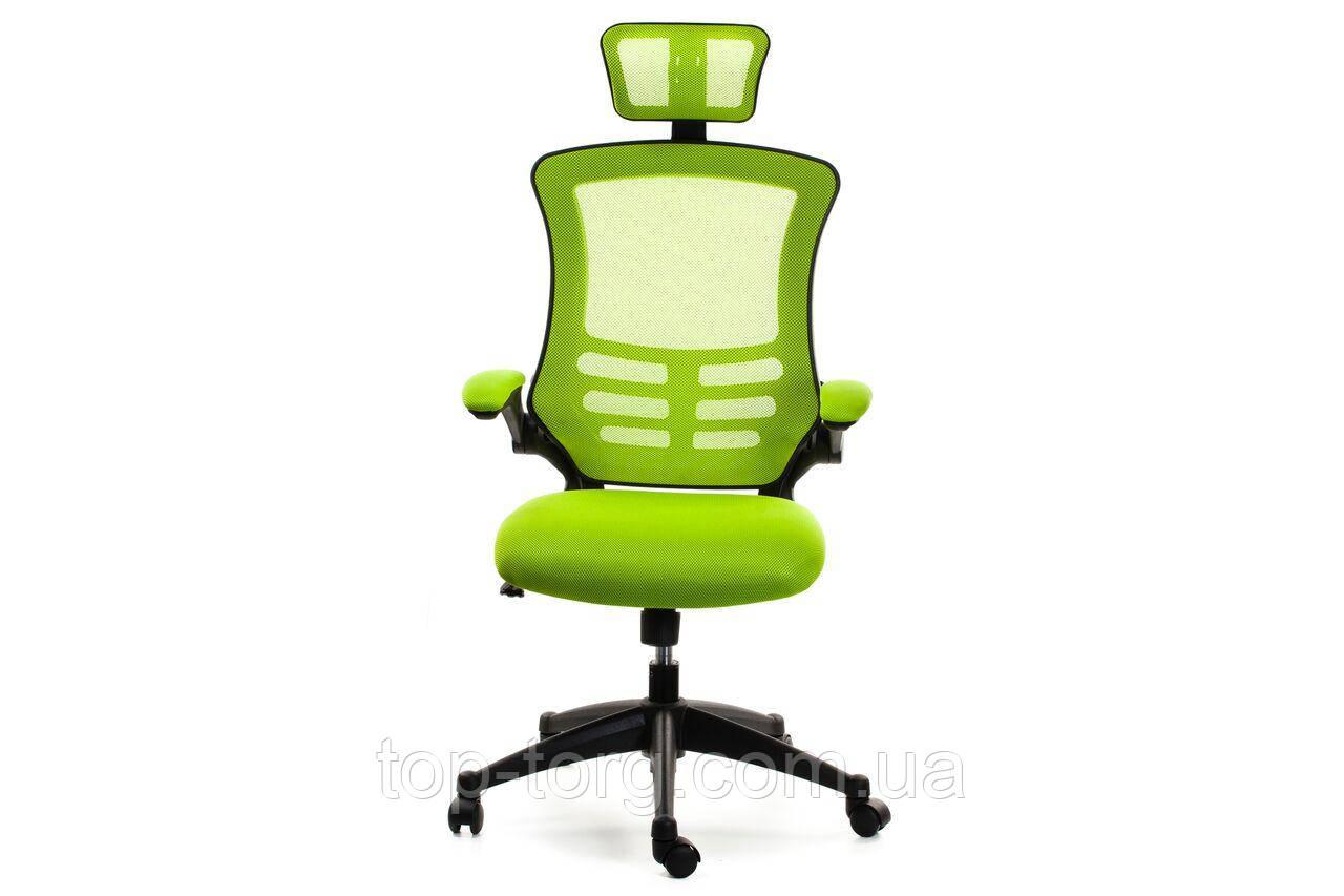 Кресло компьютерное, офисное RAGUSA light green, светло-зеленое