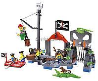 """Конструктор """"Brick"""" 309 (705562) (24шт) """"Пираты"""" 196 дет., в разобр. кор 32*24*4см"""