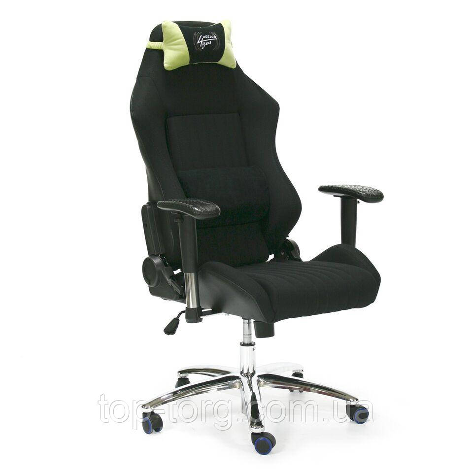 Комп'ютерне крісло RECARO, Black, колір ченый