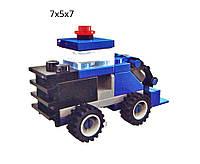 """Конструктор """"Brick"""" 1218 (160шт) """"Комбайн"""" 30 дет., 6+лет, мини, в собр. кор.7*5*7см"""