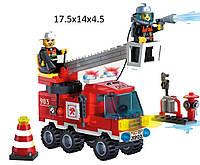 """Конструктор """"Brick"""" 903 (70шт)""""Пожарная охрана"""" 130 дет 6+ лет, в разобр., кор.18*14*5см"""