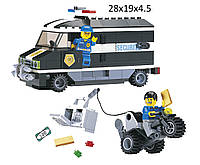 """Конструктор """"Brick"""" 127 (457833) (30шт) """"Инкассатор"""" 209 дет., в разобр. кор. 28*19*4,5 см"""