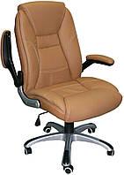 Кресло руководителя CLARK, beige беж, светло-коричневый