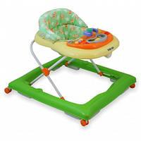 Ходунки детские Alexis-Babymix BG-1601 green-cream