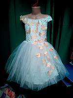 Бальное нарядное детское платье (от 2 до 6 лет)