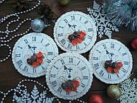 """Пряник имбирно-медовый К Новому Году """"Новогодние часы"""" (пряник новогодний на подарок)"""