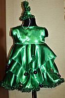 Детский карнавальный костюм для девочки Елочка