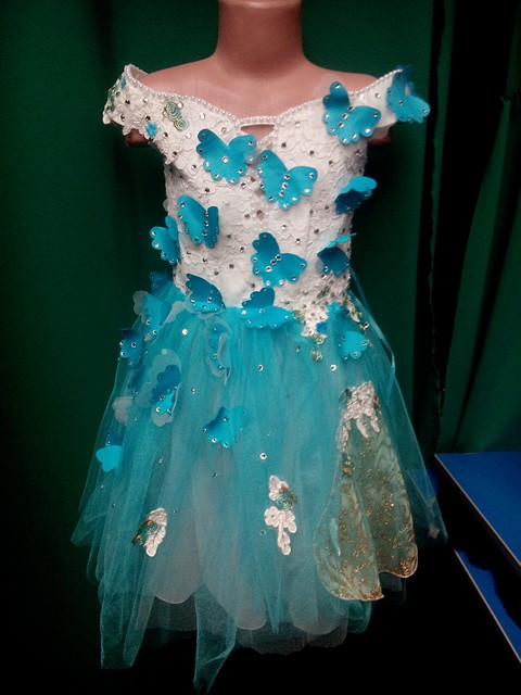 Бальное нарядное детское платье