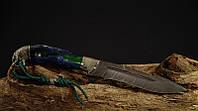 """Охотничий нож ручного изготовления """"Гюрза"""", дамасск (наличие уточняйте)"""