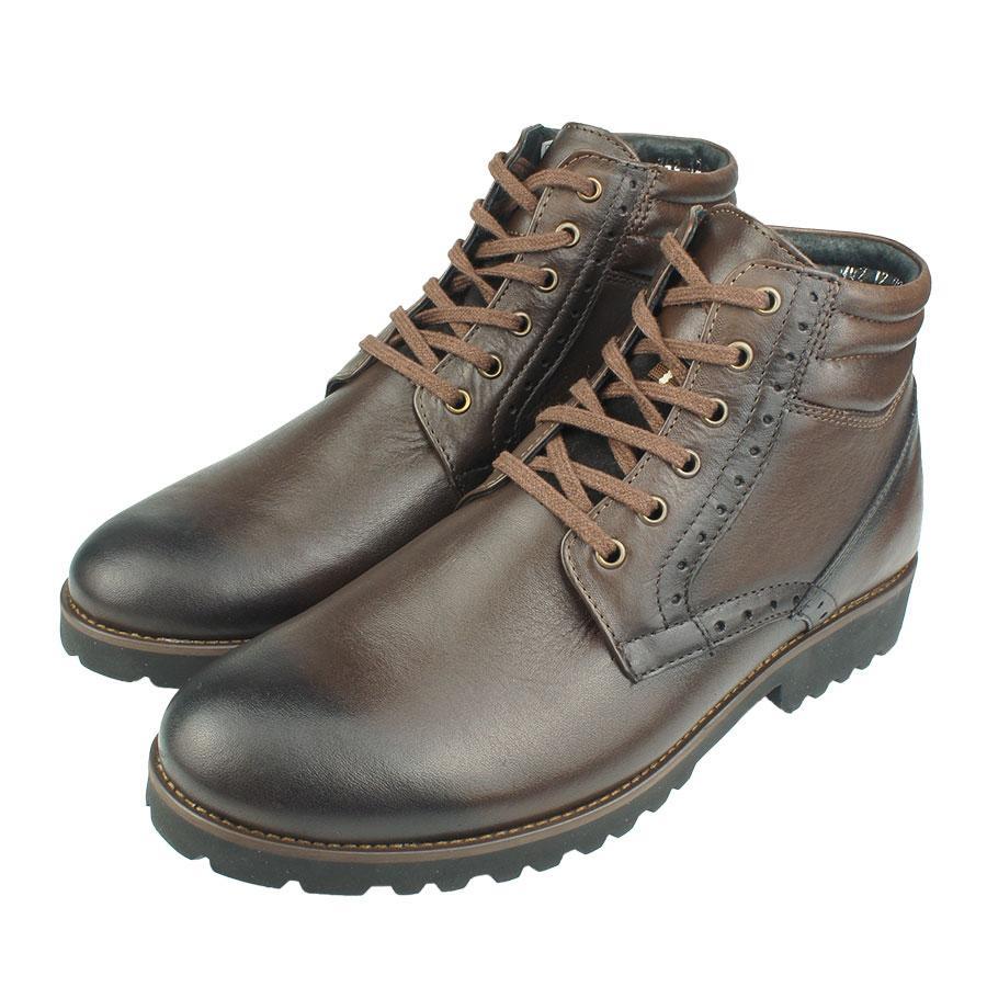 Чоловіче зимове взуття Lemar 742G C:425-21 коричневого кольору