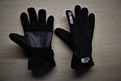 Зимние тёплые перчатки North Face Норт Фейс чёрные (реплика)