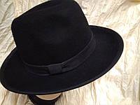 Фетровая  мужская шляпа  поля 7,2 см,размер 57-60