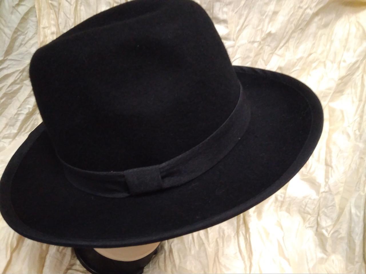 Фетровая  мужская шляпа  поля 7,2 см,размер 57-60 - ИНТЕРНЕТ МАГАЗИН       СТИЛЬ в Каменском