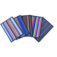 Придверный коврик цветной 40х60 см