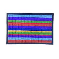 Придверный коврик цветной 60х90 см