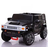 Детский электромобиль Hummer M 3581EBR Черный